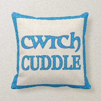 Almofada Travesseiro decorativo de Galês Cwtch, coxim,