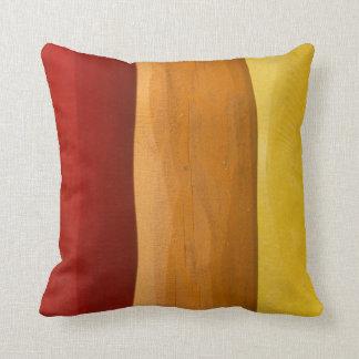 Almofada Travesseiro decorativo de madeira do poliéster,