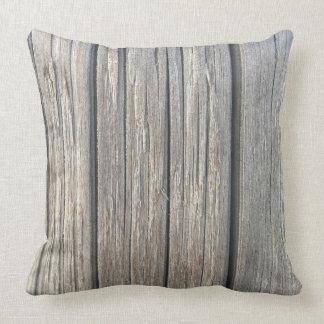 Almofada Travesseiro decorativo de madeira leve da textura