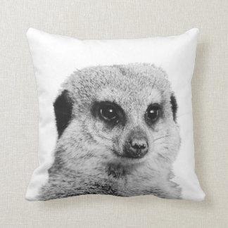 Almofada Travesseiro decorativo de Meerkat