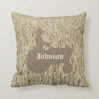 Almofada Travesseiro decorativo de Monogramed do campo do