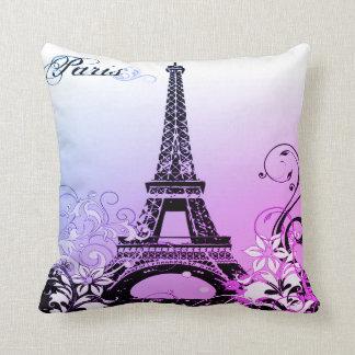 Almofada Travesseiro decorativo de Paris da torre Eiffel