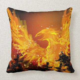 Almofada Travesseiro decorativo de Phoenix em vôo