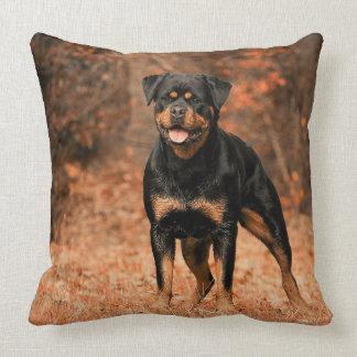 Almofada Travesseiro decorativo de Rottweiler