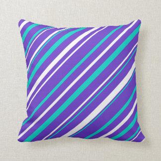 Almofada Travesseiro decorativo de turquesa & de reversible