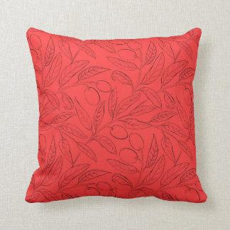 Almofada Travesseiro decorativo decorativo da oliveira