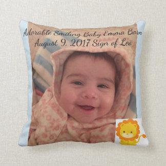 Almofada Travesseiro decorativo decorativo do bebê ou seus