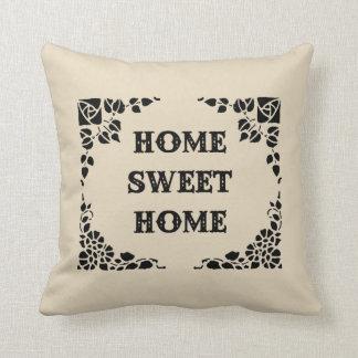 Almofada Travesseiro decorativo decorativo Home doce Home