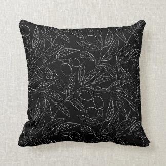 Almofada Travesseiro decorativo decorativo verde-oliva