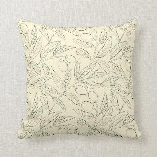 Almofada Travesseiro decorativo decorativo verde-oliva no