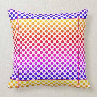 Almofada Travesseiro decorativo - design colorido feliz