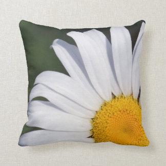 Almofada Travesseiro decorativo deslocado da margarida