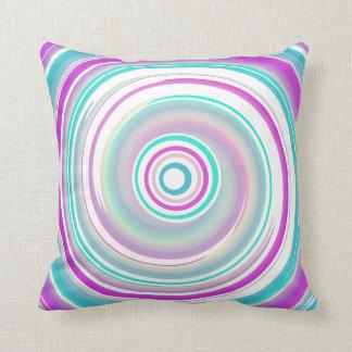 Almofada Travesseiro decorativo do algodão do redemoinho
