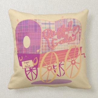 Almofada Travesseiro decorativo do algodão do vagão dos