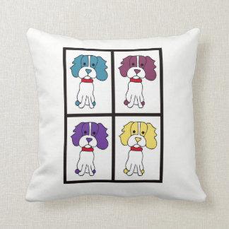 Almofada Travesseiro decorativo do cão - Spaniel