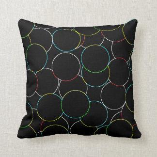 Almofada Travesseiro decorativo do círculo
