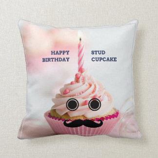 Almofada Travesseiro decorativo do cupcake do parafuso