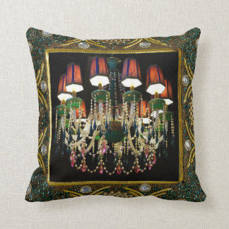 Almofada Travesseiro decorativo do design do candelabro e