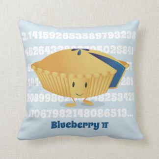 Almofada Travesseiro decorativo do dia | do Pi do mirtilo