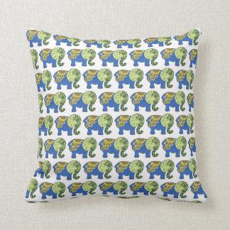 Almofada Travesseiro decorativo do elefante
