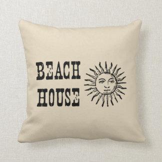 Almofada Travesseiro decorativo do estilo do vintage de Sun
