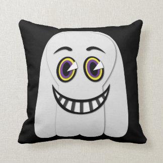 Almofada travesseiro decorativo do fantasma do vintage dos