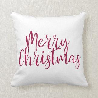 Almofada Travesseiro decorativo do Feliz Natal