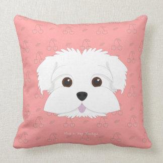 Almofada Travesseiro decorativo do filhote de cachorro de