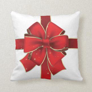 Almofada Travesseiro decorativo do floco de neve do Natal