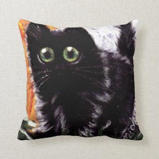 Almofada Travesseiro decorativo do gato de Scaredy do gato