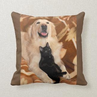 Almofada Travesseiro decorativo do golden retriever