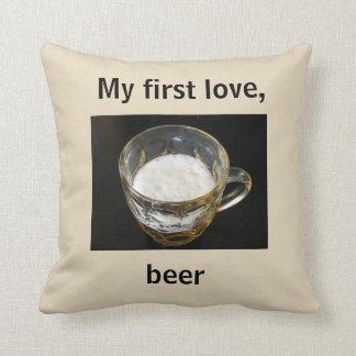 Almofada Travesseiro decorativo do humor da cerveja