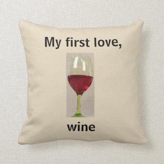 Almofada Travesseiro decorativo do humor do vinho