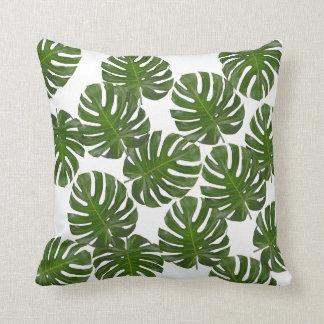 Almofada Travesseiro decorativo do impressão da folha de