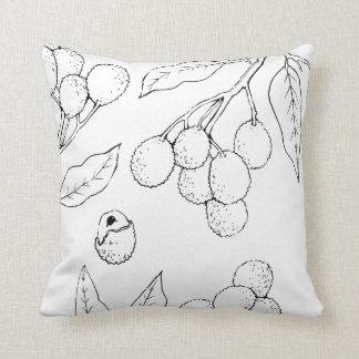 Almofada Travesseiro decorativo do impressão de Lychee