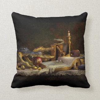 Almofada Travesseiro decorativo do intelecto do jacaré