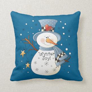 Almofada Travesseiro decorativo do inverno do Natal do