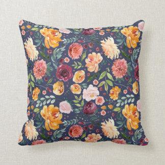 Almofada Travesseiro decorativo do jardim do vintage da