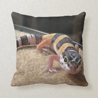 Almofada Travesseiro decorativo do lagarto do geco do