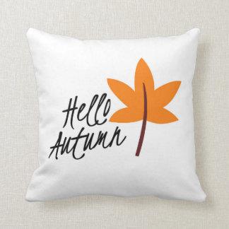 Almofada Travesseiro decorativo do outono