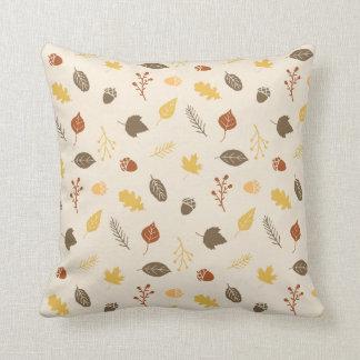Almofada Travesseiro decorativo do outono do teste padrão