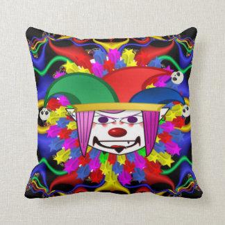 Almofada travesseiro decorativo do palhaço