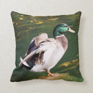 Almofada Travesseiro decorativo do pato do pato selvagem