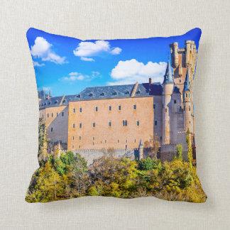 Almofada Travesseiro decorativo do poliéster, castelo de