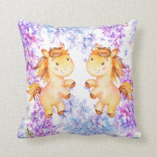 Almofada Travesseiro decorativo do poliéster do Lilac e do