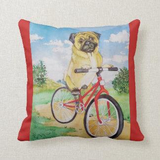 Almofada travesseiro decorativo do pug