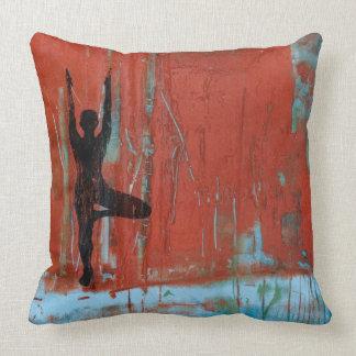 Almofada Travesseiro decorativo do quadrado da menina da
