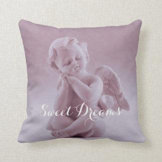 Almofada Travesseiro decorativo do querubim do rosa Pastel