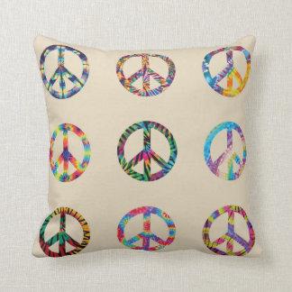 Almofada Travesseiro decorativo do sinal de paz