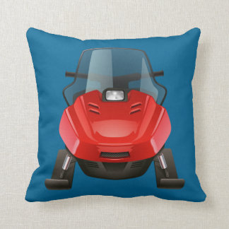 Almofada travesseiro decorativo do snowmobile